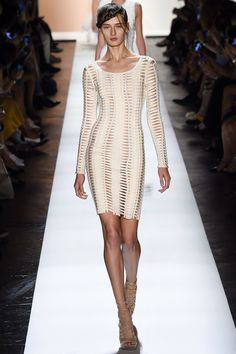 Hervé Léger by Max Azria Spring 2016 Ready-to-Wear Fashion Show Collection