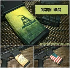 Custom AR-15 Mags $25 plus shipping and handling.  Great Stocking Stuffers! #AR-15 #AR15 #custommags #556 #223
