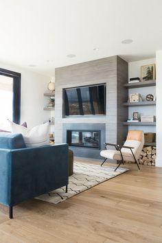 62+ Top Modern Farmhouse Living Room Decor Ideas #livingroomideas #livingroomdecorations #livingroomfurniture
