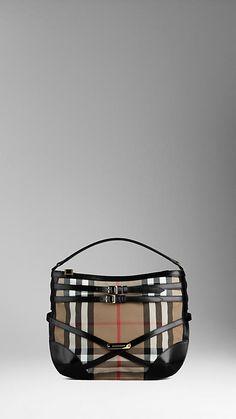 The small bridle house check Hobo bag.