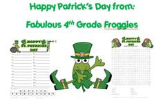 St. Patrick's Day FREEBIES!  -  Pinned by @PediaStaff – Please Visit http://ht.ly/63sNt for all our pediatric therapy pins