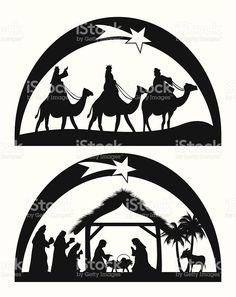 Nativity illustracion libre de derechos libre de derechos