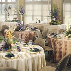 Not everything has to be the same color. Different shades on various tables can add depth and warmth to a room, yet still stay in the same color scheme.
