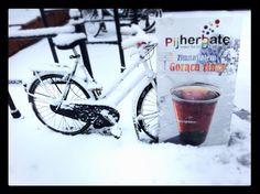Hot spicy tea in winter!