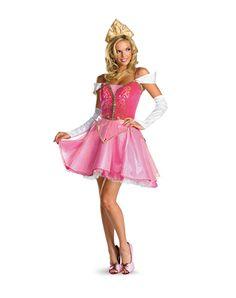 Disney Princess Aurora Adult Womens Costume