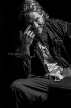 A fabulous photo of stunning Travis Fimmel, my fav pic from this photo shoot +