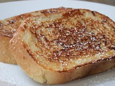 awesome Low- Calorie French Toast Recipe: 150 calories for 2 slices. Ww Recipes, Low Calorie Recipes, Cookbook Recipes, Light Recipes, Cooking Recipes, Healthy Recipes, Skinny Recipes, Bread Recipes, Weight Watchers Breakfast
