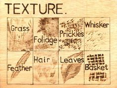 pyrography wood texture | Now try a hedgehog! Use tracing paper for the outline if you like.