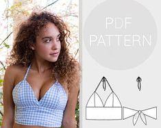 Bralette pattern | Etsy DE
