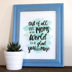 Free Mother's Day Printable — Weekend Craft