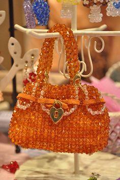 so cute beaded handbag