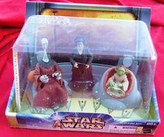 Star Wars Saga Jedi High Council Yarael Poof Depa Billaba Yaddle Mint #Hasbro