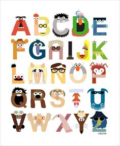 Check out These Amazing Muppet and Sesame Street Alphabets | The Mary Sue