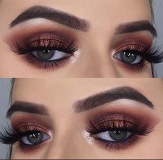 Cranberry frost eyes.