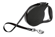 Flexi Explore Retractable Belt Dog Leash, Large, Long, Supports up to Black : Pet Leashes : Pet Supplies Dog Crate Cover, Dog Muzzle, Support Dog, Training Your Dog, Dog Accessories, Dog Leash, Dog Bowls, Best Dogs, Pet Supplies