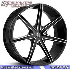 2Crave No.29 Gloss Black Machined Wheels & Rims