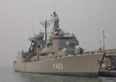 HS Bouboulina F 463 - NATO standing naval force mediterranean - STANAVFORMED - Trieste, Italy - November 2004