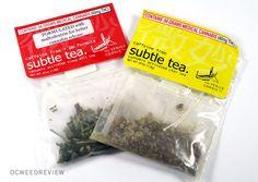 Subtle Tea Infused Tea Review