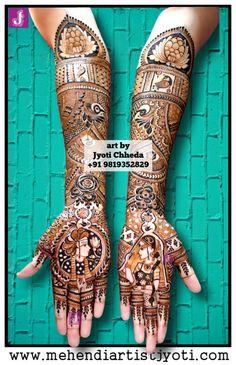 Jyoti Chhedas mehndi design gallery. Mehandi Art Designs done on different occasions. Indian Mehndi Designs, Wedding Mehndi Designs, Mehndi Designs For Hands, Mehndi Design Pictures, Mehndi Images, Mehendhi Designs, Mehndi Desighn, Mehndi Patterns, Mehendi