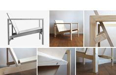 Chair (White) by Sebastian Erazo Fischer, stand H5, hall T4, Tent London 2014  http://www.sebastianerazo.cl