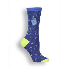 The Joy of Socks - Fireflies Socks (Women's), $7.50 (http://www.joyofsocks.com/fireflies-socks-womens/)
