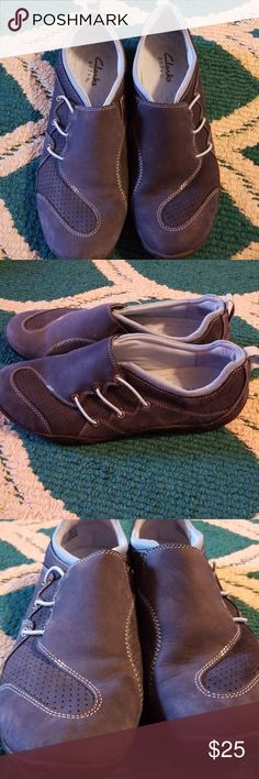 Clark's Privo walking shoes Like new Clark's walking shoes! These were worse one time and they are comfortable! Just making room in my closet! 😁 Clarks Shoes Flats & Loafers