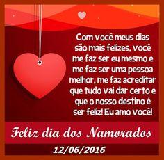 Lindas Gifs e Imagens: Dia dos Namorados-Mensagens para Facebook
