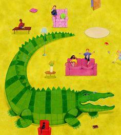 Croc by Diana Mayo