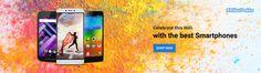 Micromax , HTC , Motorolla , MI Holi Sale Offer : Holi 2016 Mobile Sale offers