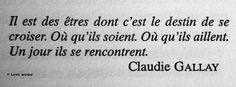 Claudie Gallay Plus