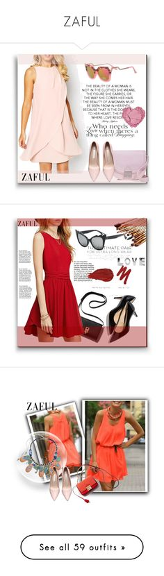 """""""ZAFUL"""" by aaidaa ❤ liked on Polyvore featuring Loeffler Randall, Therapy, zaful, M. Gemi, Urban Decay, Charlotte Russe, Dorothy Perkins, Forever 21, Shin Choi and Chanel"""