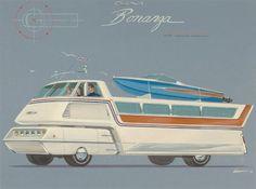 GM Bonanza Concept, designed by Richard Arbib.