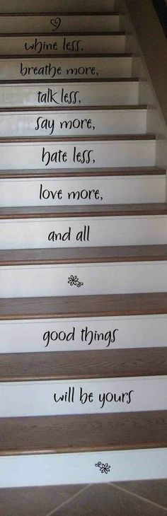 Hmmm... I think this whole concept might work...  chalkboard paint on the stairs, tempura paint or chalk to decorate...  hmmm...  Gotta have a good chalkboard paint though.  I think I need to go see the Benjamin Moore guy...