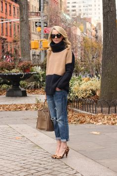 Looks comfy and chic!