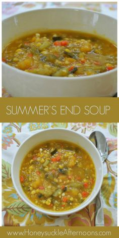 Summer's End Soup by Honeysuckle Afternoons