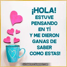 Imágenes gifs para saludos Daily Life Quotes, Spanish Quotes, Qoutes, Gifts, Angeles, Funny Phrases, Nighty Night, Truths, Images Of Happiness