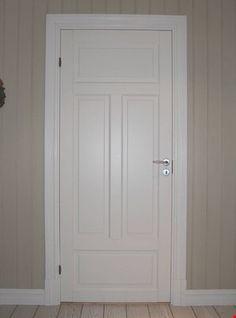 Innvendig døromramming i sveitserstil