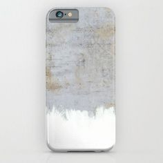 Painting On Raw Concrete for iPhone 6 Case