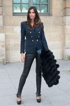 Outfit a lo Balmain...