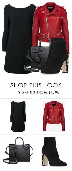 """""""Untitled #5224"""" by beatrizvilar on Polyvore featuring Chloé, Bally, Yves Saint Laurent and Dolce&Gabbana"""