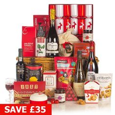 Traditional Christmas - Over £60 - Shop By Price - Hampers