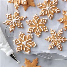 Butterscotch Gingerbread Cookies Recipe from Taste of Home