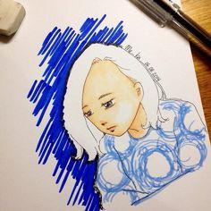 i cry | #mekaworks #drawing