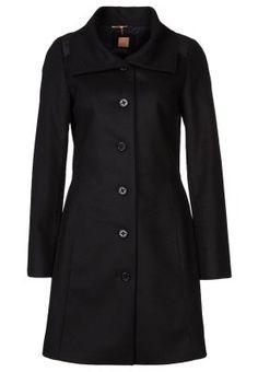OKIRANA 1 - Płaszcz wełniany /Płaszcz klasyczny - czarny