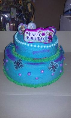My niece bday cake made by me