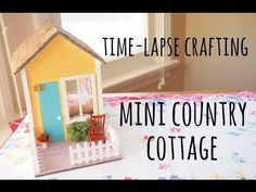Don't forget to watch it in HD! Hello everyone, this is a video of me making this miniature country cottage out of a kit. I apologize in advance for the leng...