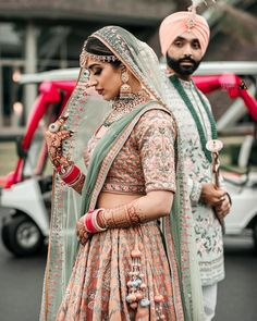This wedding in Thailand is already trending and stealing hearts everywhere for the bride's stylish looks and serene beachy photos. Indian Wedding Poses, Indian Wedding Couple Photography, Indian Bride And Groom, Indian Wedding Outfits, Bridal Outfits, Punjabi Wedding Couple, Punjabi Bride, Bride Photography, Wedding Couples