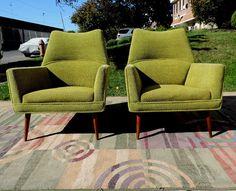 Mid Century Modern Vintage Furniture danish sofa credenza tables ... Mid Century Armchair, Mid Century Furniture, Danish Modern, Mid-century Modern, Mcm Furniture, Vintage Furniture, Danish Sofa, Credenza, Eames