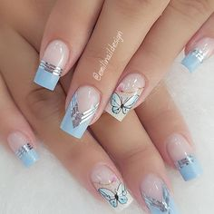 10 Amazing Spring Nail Art Designs That You Should Try Asap Manicure Nail Designs, Nail Manicure, Nail Art Designs, Spring Nail Art, Spring Nails, Perfect Nails, Gorgeous Nails, Nail Designer, Pretty Nail Art