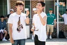 answer to my prayers (Posts tagged official: 1 night 2 days) Korean Celebrities, Celebs, Yoon Shi Yoon, Korean Variety Shows, Bo Gum, My Prayer, 1st Night, Korean Drama, Movies And Tv Shows